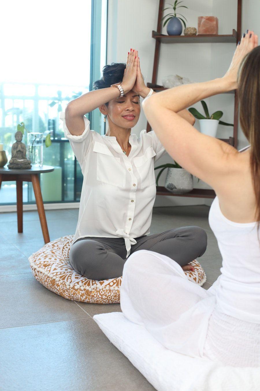 breathe meditation mindfulness busy professional