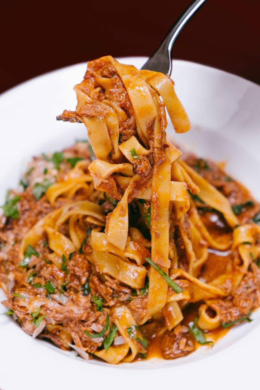 spaghetti bolognese gluten free pasta bar