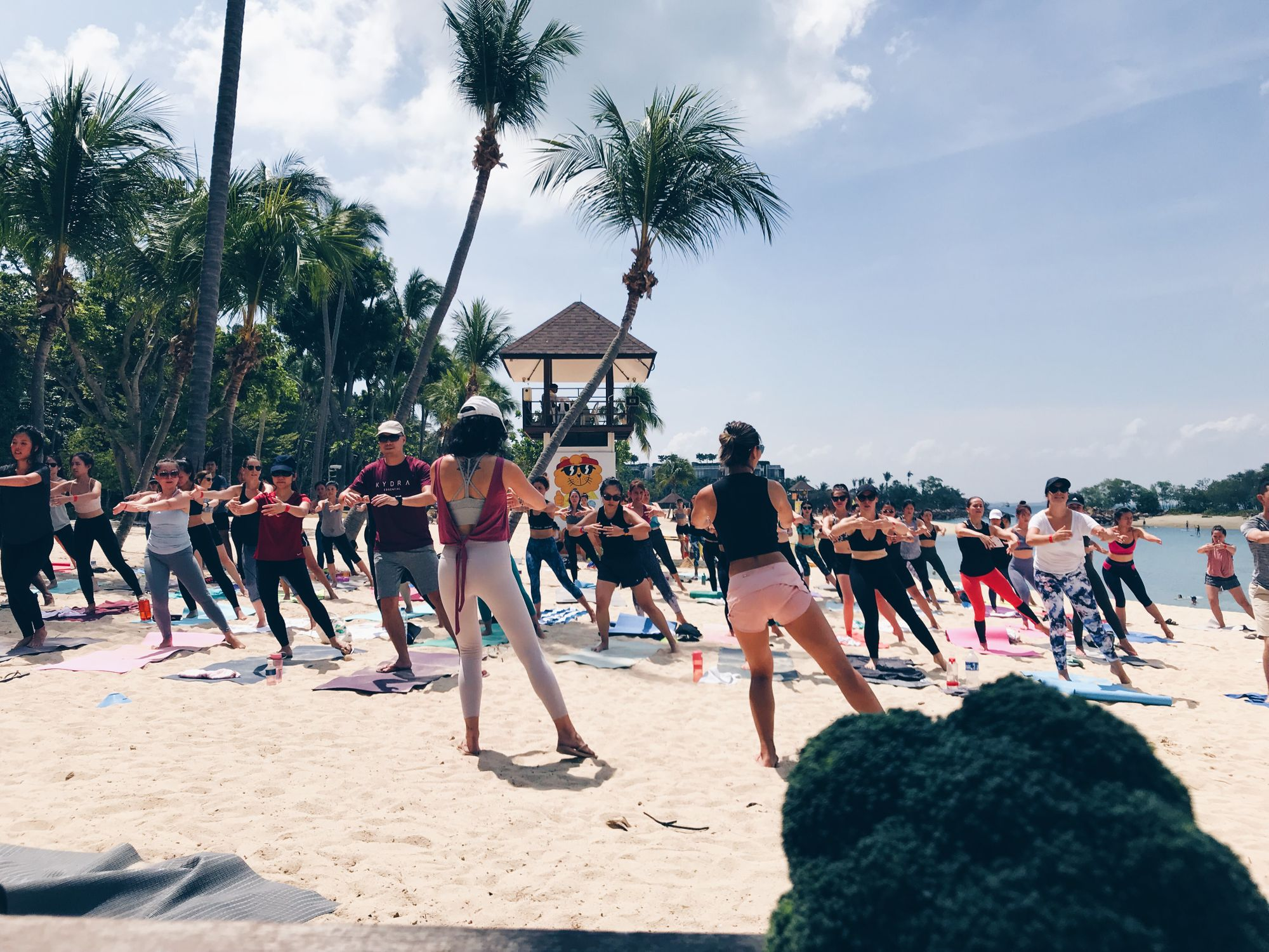 bootcamps & booze - the beach edition